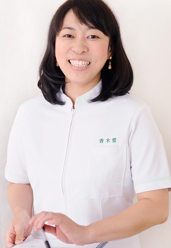 女性専門 整体院 香木堂院長 宮崎愛弓